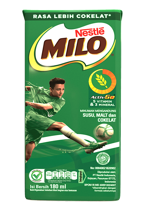 MILO UHT Kotak 180ml