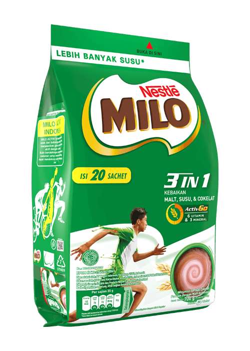 MILO 3in1 Polybag 20x35